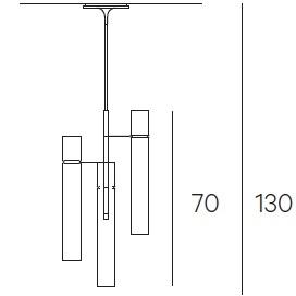 3 Cilindri - Ø 7 cm