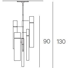 2 cil. ø5,5 cm + 2 cil. ø7 cm + 1 cil. ø10 cm