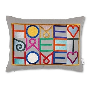 Embroidered Pillows_Home Sweet Home