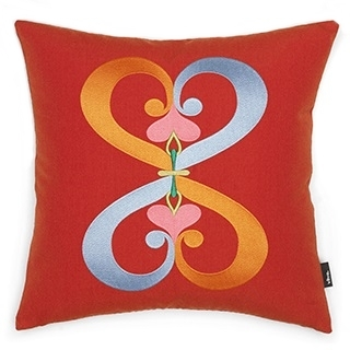 Embroidered Pillows_Double Heart
