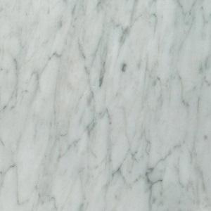mattweißer Carrara-Marmor