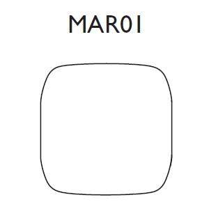 MAR01_ 75 x 12 x H 77 cm