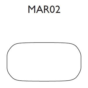 MAR02_ 100 x 17 x H 56 cm