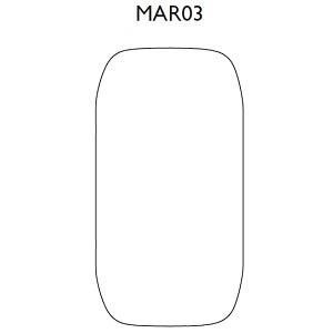 MAR03_ 95 x 20 x H 185 cm