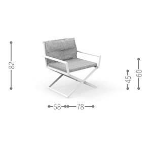 Domino - Director Lounge Chair