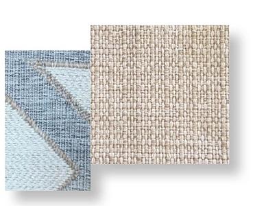 Cliff fabric_beige-geometric fantasy