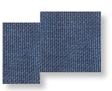 Cliff _ Fabric blue, blue cushion