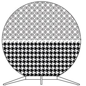 Babu Small - 50 cm x H 53.4 cm