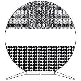 Babu Medium - 70 cm x H 74.8 cm
