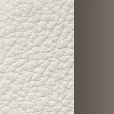 170 x 200 cm / Pelle Frau SC 04-Latte Bianco / Canna di fucile