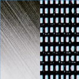 Stainless steel electro polished / Batyline _ Negro ZU