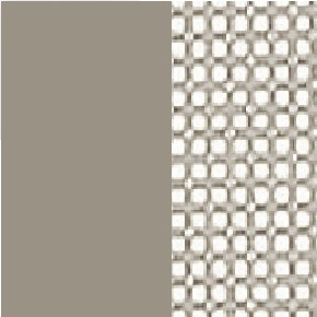 Coated stainless steel S / Batyline _ Pearl Grey PG