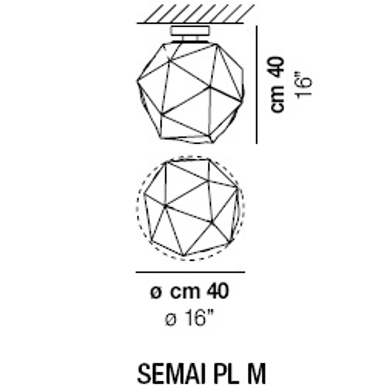 SEMAI PL M_ Ø 40 x H 40 cm
