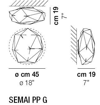 SEMAI PP G_ Ø 45 x H 19 cm