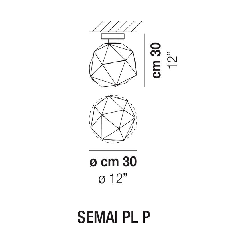 SEMAI PL P_ Ø 30 x H 30 cm