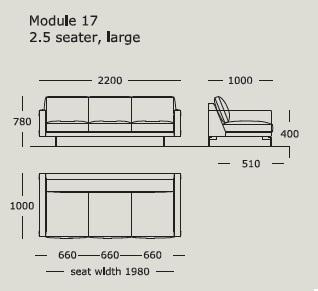 3_Edge_ 220 x 100 x H 78 cm