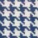 Pied de poule_ 68 azul