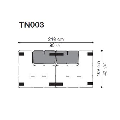 Tufty-Too TN003_218x109 cm