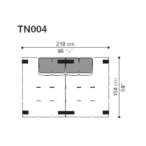 Tufty-Too TN004_218x150 cm