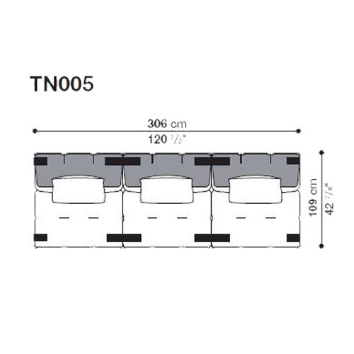 Tufty-Too TN005_306x109 cm