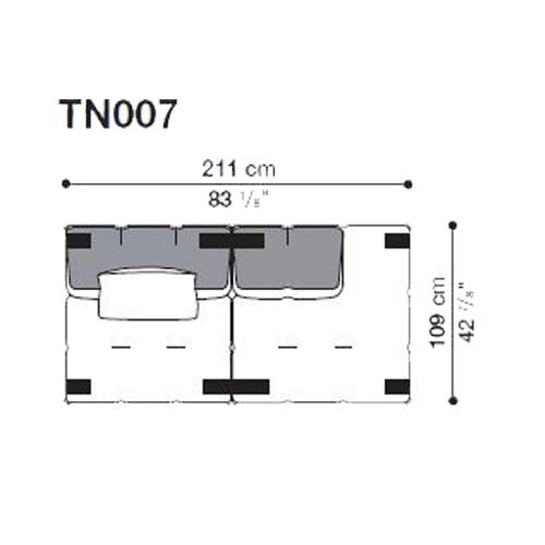Tufty-Too TN007_211x109 cm