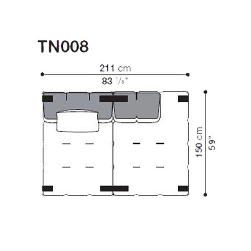 Tufty-Too TN008_211x150 cm