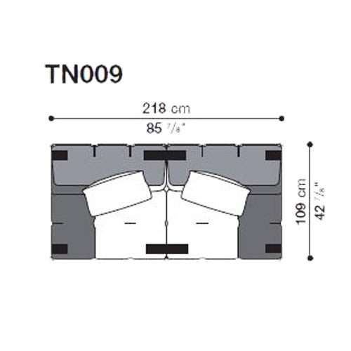 Tufty-Too TN009_218x109 cm