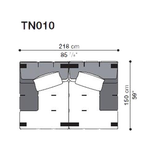 Tufty-Too TN010_218x150 cm