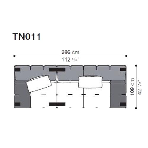 Tufty-Too TN011_286x109 cm