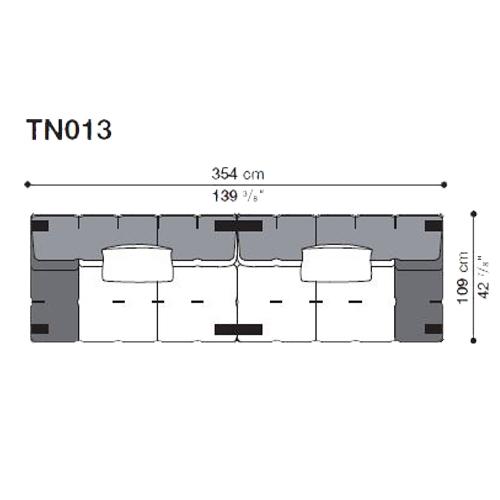 Tufty-Too TN013_354x109 cm