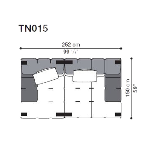 Tufty-Too TN015_252x150 cm