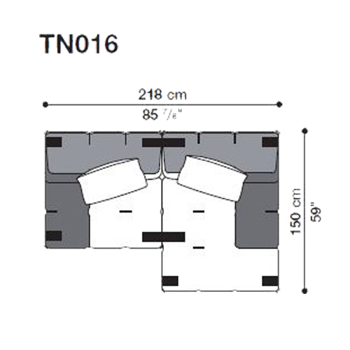 Tufty-Too TN016_218x150 cm