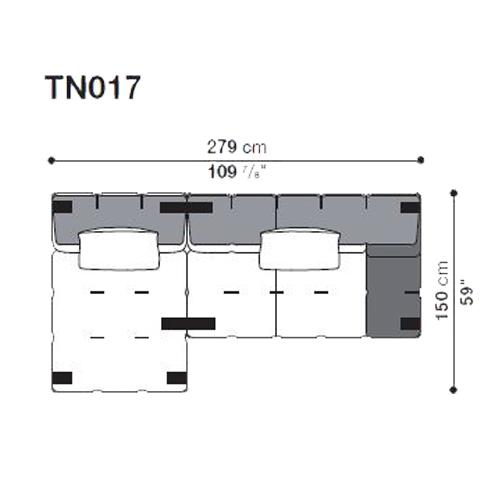 Tufty-Too TN017_279x150 cm