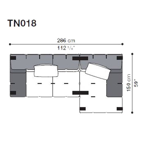 Tufty-Too TN018_286x150 cm