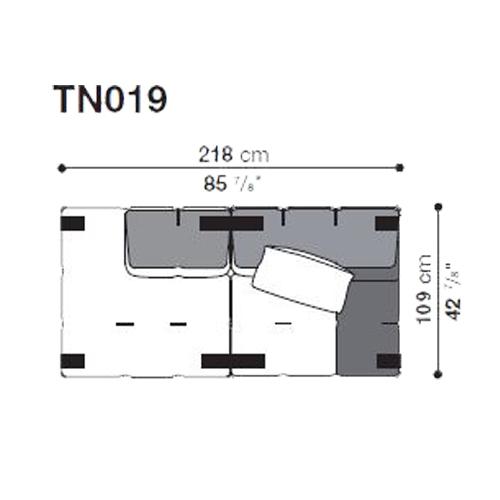 Tufty-Too TN019_218x109 cm