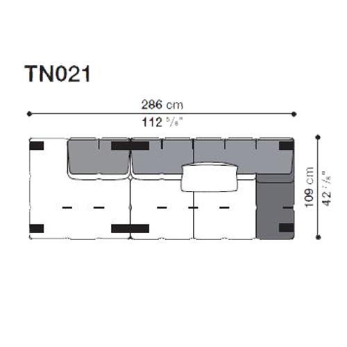 Tufty-Too TN021_286x109 cm