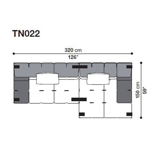 Tufty-Too TN022_320x150 cm