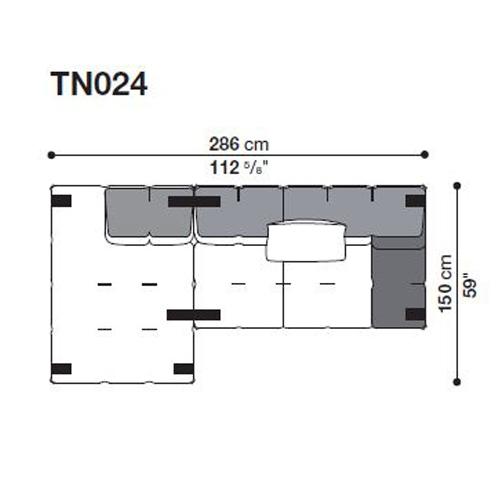 Tufty-Too TN024_286x150 cm