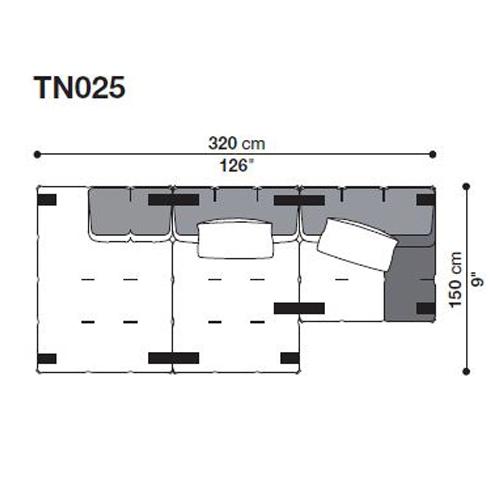 Tufty-Too TN025_320x150 cm