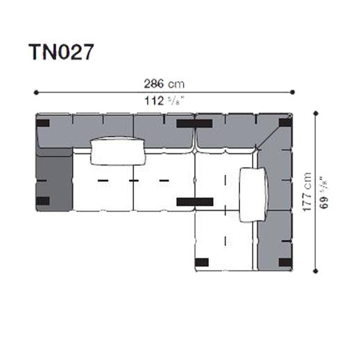 Tufty-Too TN027_286x177 cm
