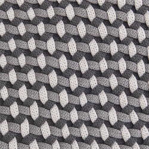 Dark grey polypropylene