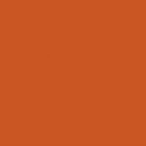 43 rusty orange