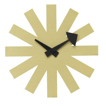 asterisk-clock-brass