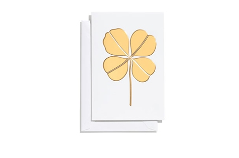 Four Leaf Clover, gold _ small