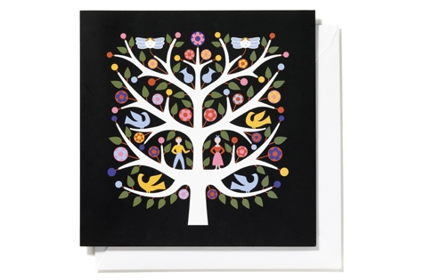 Tree of Life, black _ square