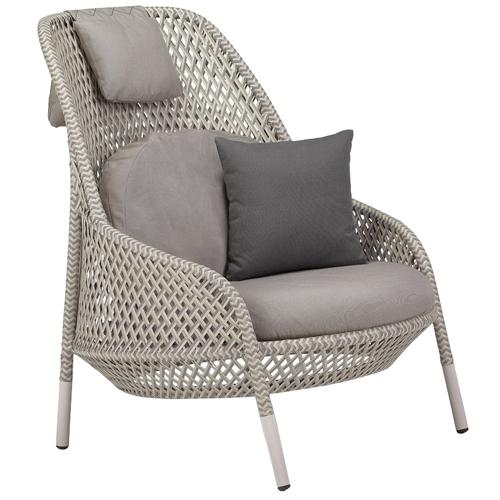 Ahnda_Structure 106 White Quartz_Seat, Back and Headrest Cushion