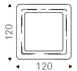 120 x 120 cm