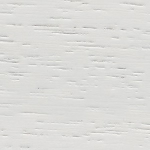 Weiß lackiert Iroko