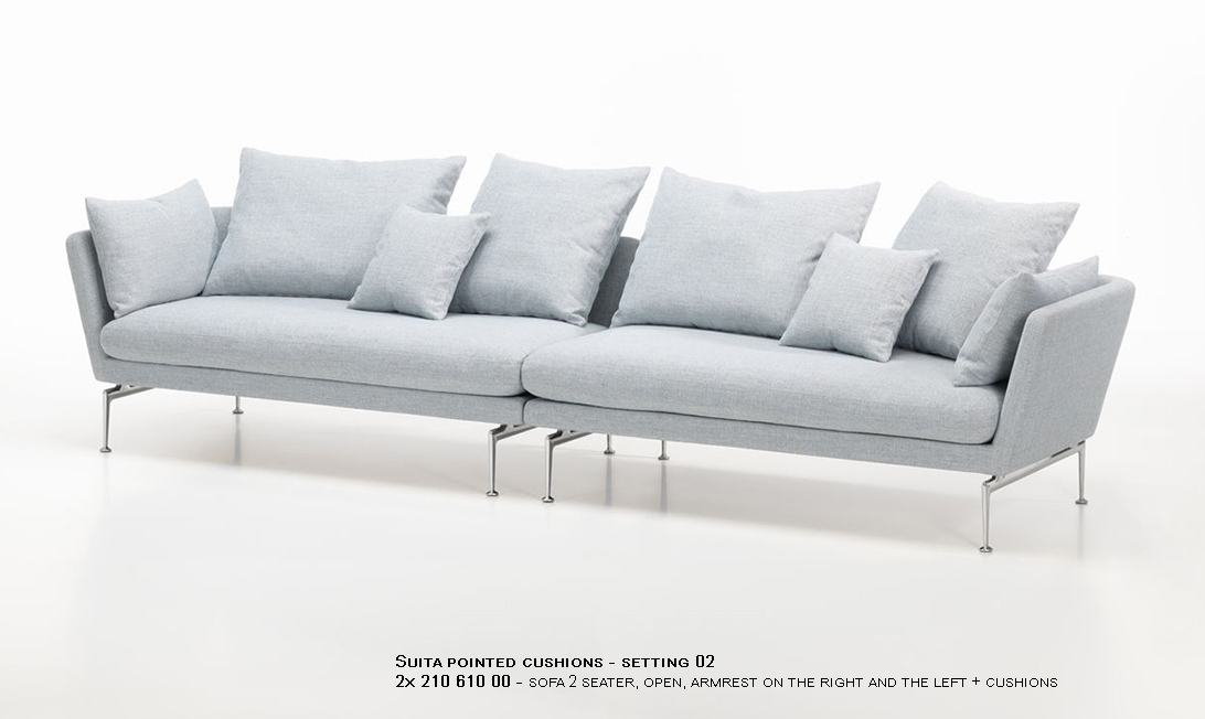 Suita pointed cushions - setting 02