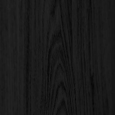 Black-stained oak